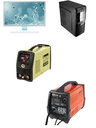 Сварочные аппараты и компьютер