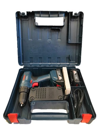 Дрель-шуруповерт BOSCH GSR 1800-LI 1.5Ah x2 Case.