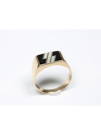 Перстень Золото585 Фианиты