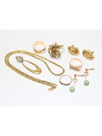 """Ювелирные украшения Золото 585""""  Бриллианты Фианиты"""