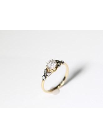 """Кольцо Бриллианты 1,16к. Золото 585"""""""
