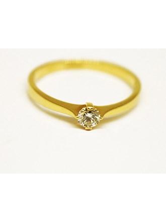 Кольцо Золото 585 Бриллиант
