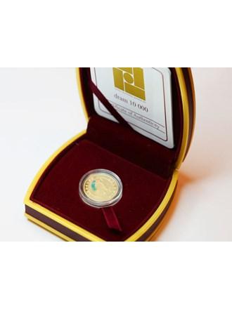 """Монета Скорпион 2008 год Золото 900"""""""