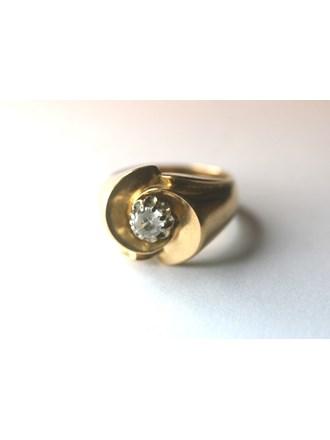 """Кольцо Золото 750"""" Фианит"""