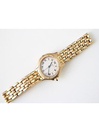 Часы CARTIER с браслетом золото 750