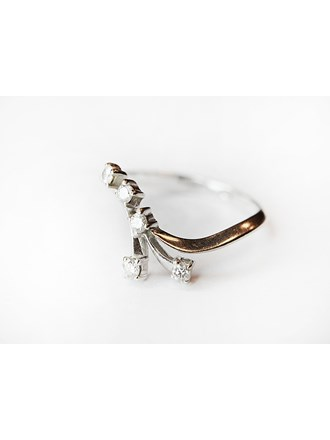 "Кольцо Золото Бриллианты 585"""