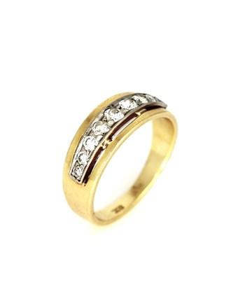Кольцо c бриллиантами