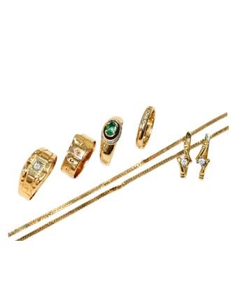 """Ювелирные украшения Золото 585"""" Бриллианты Изумруды"""
