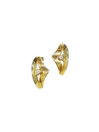 """Серьги Золото 585"""" Фианиты"""