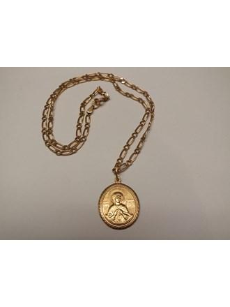 Цепь Кулон золото 585