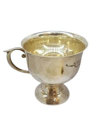 Столовое серебро, чашка