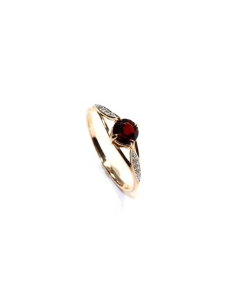 "Кольцо Золото 585"" Гранат"