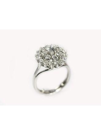 Кольцо Платина 950 Бриллианты