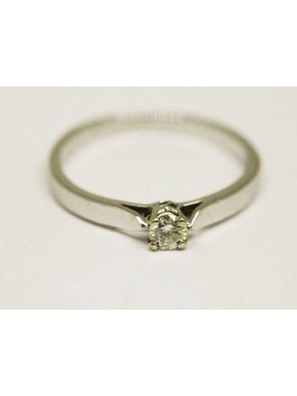 Кольцо Золото 750 Бриллиант