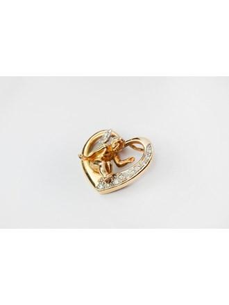 Подвеска Золото 585 бриллианты