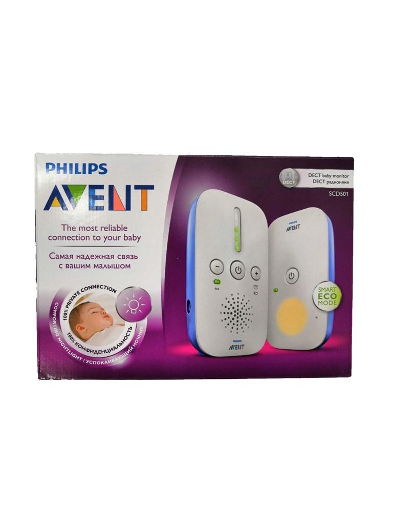 Радионяня Philips AVENT SCD501.