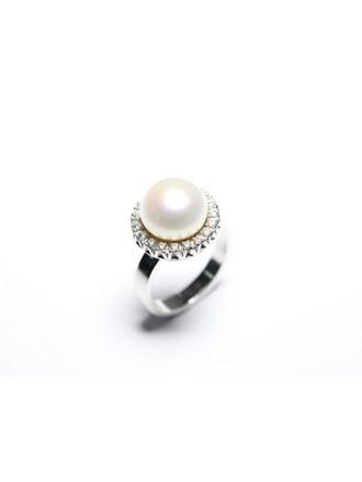 Кольца Золото 585 Бриллианты Жемчуг