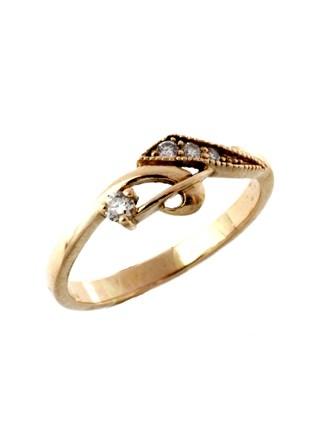 Кольцо Бриллиантовые вставки