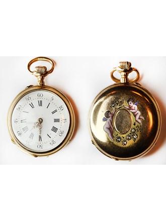 """Часы карманные Золото 750"""""""