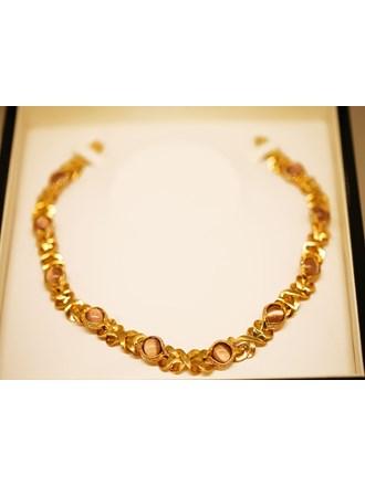 Колье VERSACE с бриллиантами Золото 750