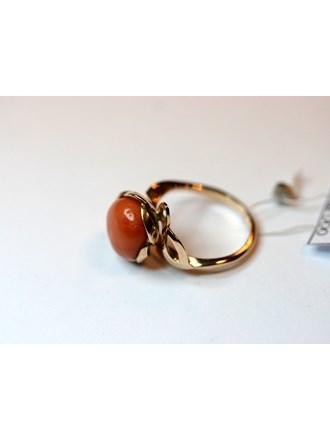 """Кольцо Золото 585"""" Коралл"""