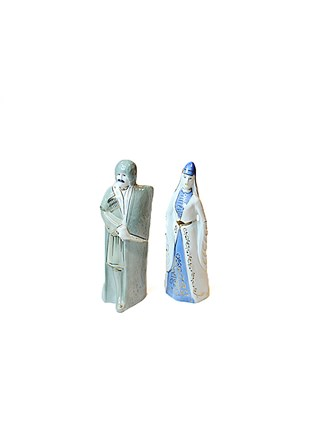 Две статуэтки Фарфор