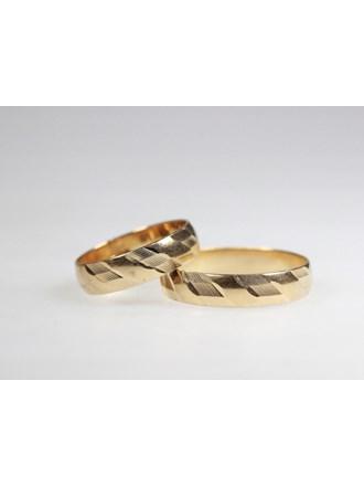 Обручальные кольца 2 шт. Золото 585