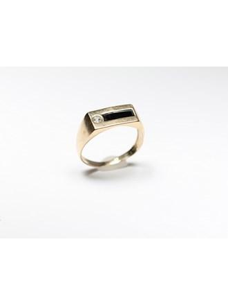 Печатка Золото 585 Эмаль