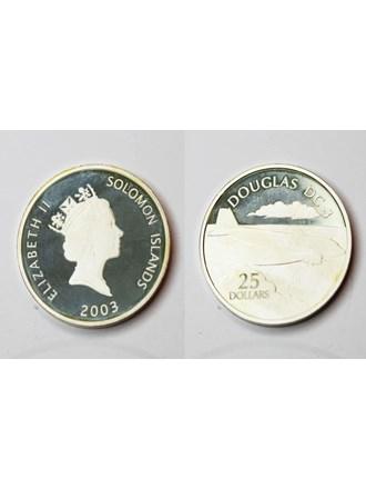 Монета ELIZABETH II, 2003 года Серебро 999