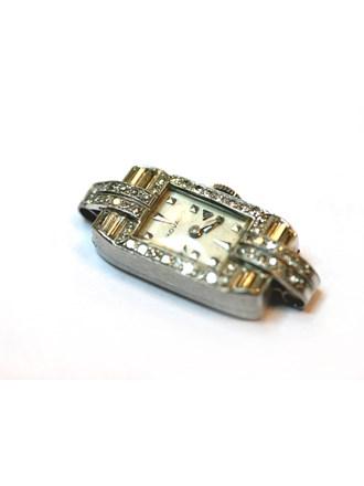 Часы женские MOVADO с бриллиантами, Белое золото 585*
