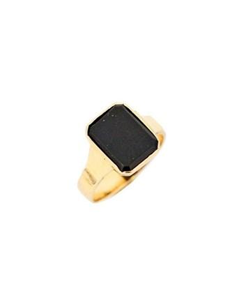 """Кольцо Золото 583"""" Оникс"""