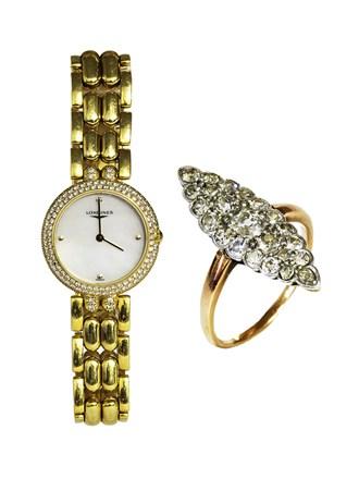 Часы LONGINES и Кольцо