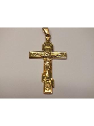 Крест золото 585