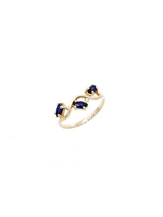 """Кольцо Золото 585"""" Сапфиры"""