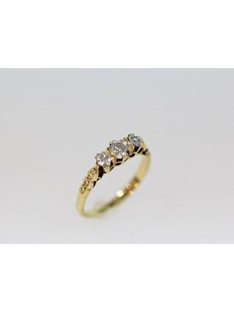 Кольцо Золото 750 Бриллианты