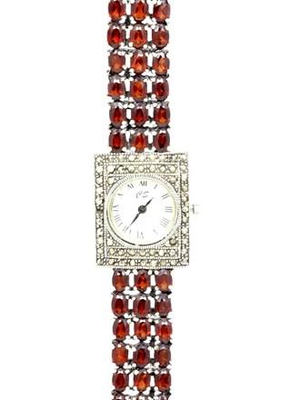 Часы Гранаты Марказиты