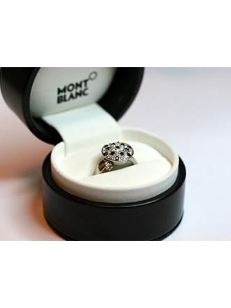 Кольцо с бриллиантами MONTBLANC Белое Золото 750