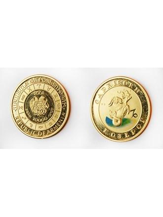 """Монета Козерог Золото 900"""""""