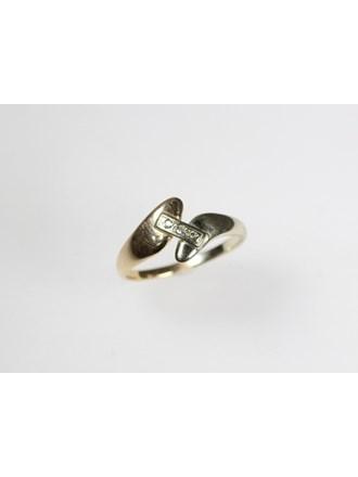 Кольцо Золото 585 Фианиты