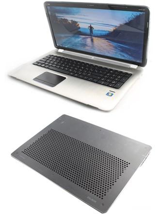 Ноутбук и подставка
