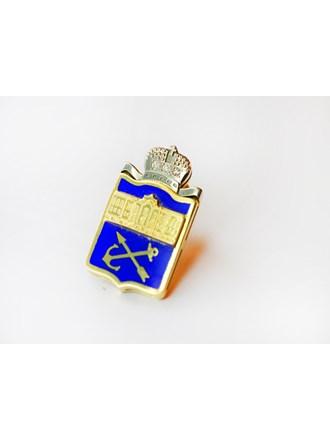 Значок с бриллиантами золото 750