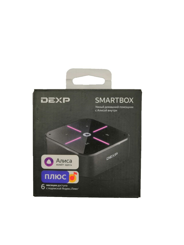 Умная колонка DEXP SMARTBOX.