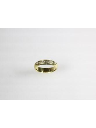 Кольцо с бриллиантами. Золото 585.