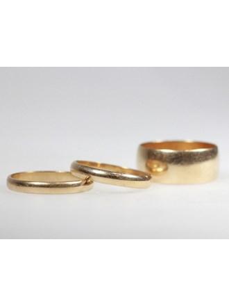 Обручальные кольца 3 шт.Золото 583