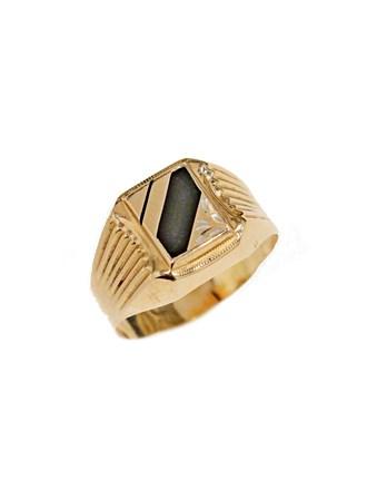 """Кольцо Золото 585"""" Смальта"""