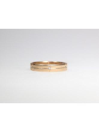 Кольцо с вставками. Золото 585