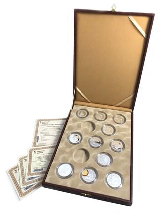 Сувенирные серебряные медали