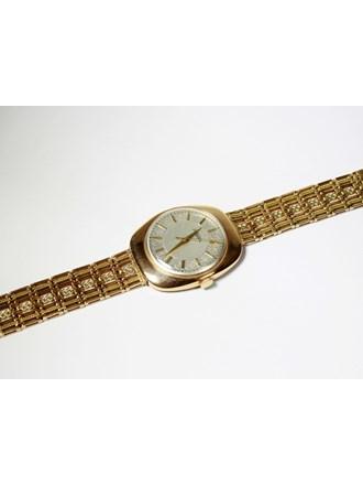 """Часы Ракета с браслетом Золото 583"""""""