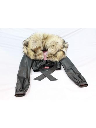 Куртка женская р-р44 натуральный мех