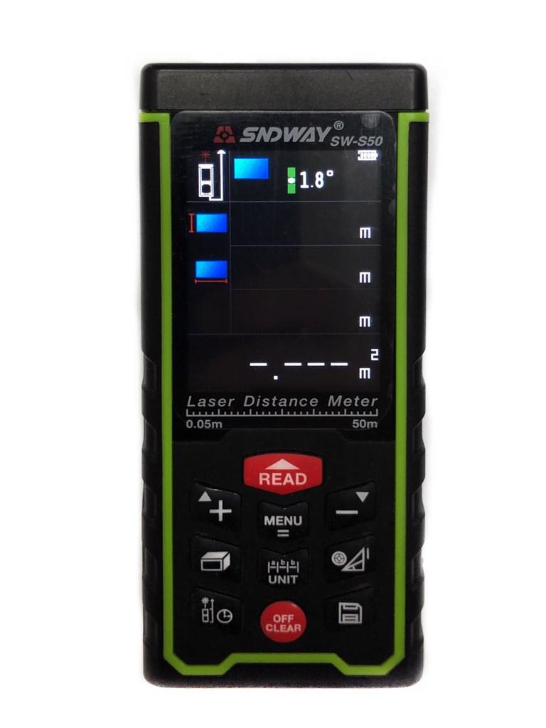 Лазерный дальномер SNDWAY SW-S50